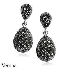 Srebrne Kolczyki ● www.Verona.pl/6684-srebrne-kolczyki-ks01270-bc000-mah000-000● #jewellery #black#accessories #blingbling #details #shining #classy #sale #greatprice #buyonline #verona #jewelleryfreak #jewellerylover #jewelleryobcessed #jewelry #jewels