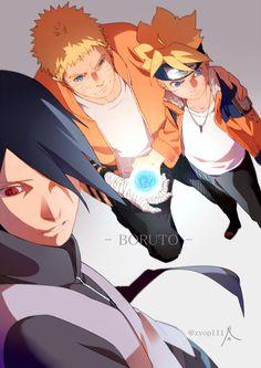 Tags: Fanart, NARUTO, Uzumaki Naruto, Uchiha Sasuke, Pixiv, PNG Conversion, Fanart From Pixiv, Pixiv Id 3513528, Uzumaki Boruto, Boruto: Naruto the Movie