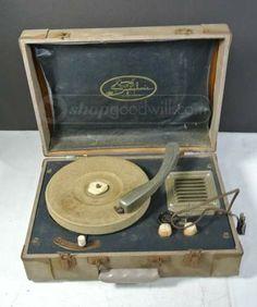 Vintage Symphonic Record Player