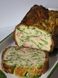 Zucchini and salmon terrine by Aurélie - Cuisine from a gourmet tribe - Trend Pretty Cakes 2019 Lunch Recipes, Cooking Recipes, Healthy Recipes, Cake Recipes, Food In French, Salmon Terrine, Homemade Mayonnaise, Vegetarian Lunch, Clean Eating Snacks