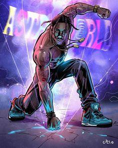 Travis Scott Tattoo, Travis Scott Art, Travis Scott Rodeo, Travis Scott Iphone Wallpaper, Travis Scott Wallpapers, Arte Do Hip Hop, Hip Hop Art, Dope Cartoons, Dope Cartoon Art