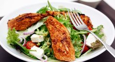 This low fat Tandoori Chicken Salad recipe is very tasty as well as being highly nutritious.