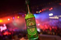 The Heineken Ignite interactive beer bottles glow in time to music
