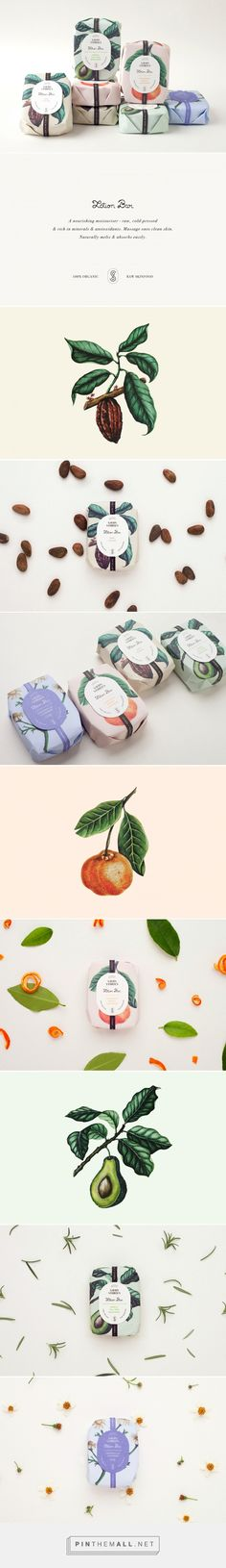 Art direction, illustration and packaging for Savon Stories Lotion Bars on…