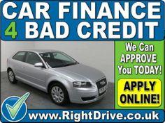 CAR FINANCE 4 BAD CREDIT - Audi A3 1.6 SE | eBay - http://www.ebay.co.uk/itm/350973373912