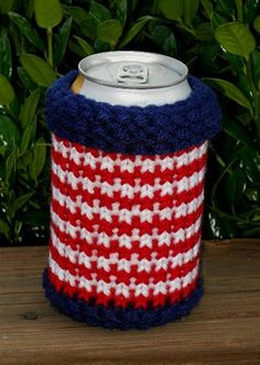 Knifty Knitter can cozy - for my S.S. girls