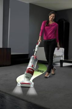 The Shark Rotator Professional Lift-Away features Never Loses Suction technology to ensure continuous cleaning power and lightweight, portable Lift-Away technology.