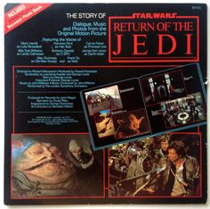 The Story of Return of the Jedi LP Vinyl Record by ThisVinylLife