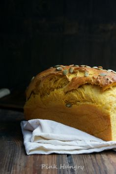 Pumpkin Brioche recipe from pinkhungry.com