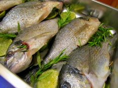 Ofenfisch #paleo #lowcarb #highfat