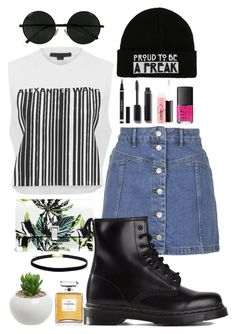 """Proud to be a Freak"" by nerizaarviana ❤ liked on Polyvore featuring Alexander Wang, Topshop, Proenza Schouler, Dr. Martens, Yves Saint Laurent, Chanel, MAC Cosmetics, NARS Cosmetics, ootd and likes"