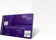 The Starwood Preferred Guest® Credit Card from American Express