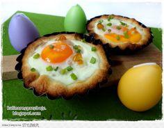Jajka zapiekane w cieście francuskim - pomysłowe śniada… na Stylowi.pl