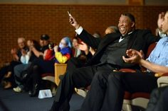WCCC Director of Music Rod Booker Honored by Band, Choir Members