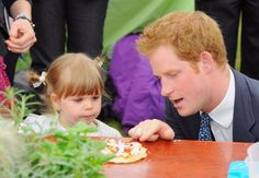 Pin for Later: 23 Times Prince Harry Was Out-of-Control Cute With Kids When He Debated the Best Pizza Toppings With a Little Girl in Suffolk, England