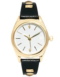 Buy ASOS Stud Detail Watch at ASOS. With free delivery and return options (Ts&Cs apply), online shopping has never been so easy. Get the latest trends with ASOS now. Larsson And Jennings Watch, Daniel Wellington Watch, Asos, New Years Outfit, Jewerly, Shoe Bag, Detail, Bracelet, My Style