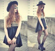 Chicnova Dress, Chicwish Creepers