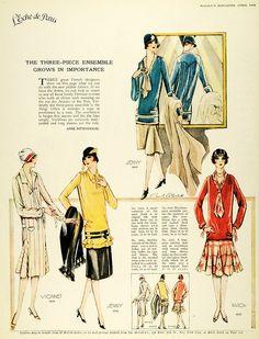 1926 vintage fashion McCalls @vintageclothin.com