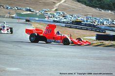 Gordon Johncock - Lola T332 [HU44] Chevrolet V8 - First National City Travelers Checks California Grand Prix - 1975 SCCA/USAC F5000 Championship, Round 9