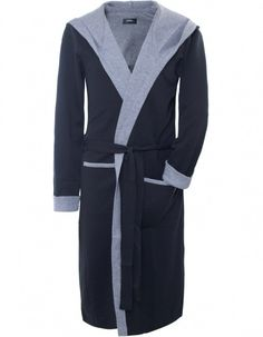63600bb0488 Men s Hugo Boss Black Hooded Robe