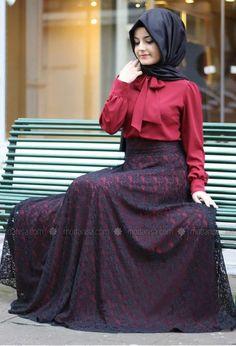 712da19f6 10 Best فساتين سهرة طويلة للمحجبات 2014 images | Hijab styles, Hijab ...