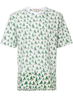 MARNI sail print T-shirt. #marni #cloth #