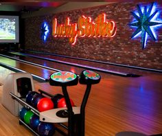 Lucky Strike bowling...best bowling alley ever! Great music , food and drinks.