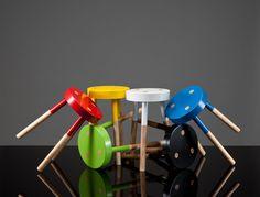 Tim Webber Design - Furniture - Y Stools