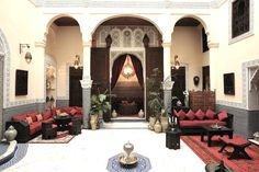 Morocco - if I travel to Morocco I'd like to stay in Riads - traditional homes-turned-hotels
