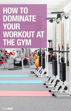 Get the most out of your workout at they gym with these tips!