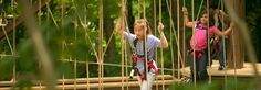 John Ball Zoo | Things to do in Grand Rapids Michigan....Zip lines, climbing ropes, rope walks, 2nd highest summit in GR