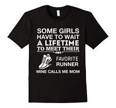 bd7e79c7f997 Favorite Runner Calls Me Mom Cute Track & Field T-Shirt. Always Awesome  Apparel