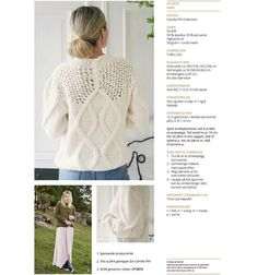 Camilla Pihl Mari-genser Camilla, Crochet Hats, Pullover, Knitting, Womens Fashion, Casual, Sweaters, Inspiration, Color