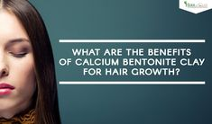 Calcium Bentonite Clay is really an good treatment for hair growth! There various benefits of calcium bentonite clay for hair growth. You can use it as a cleanser, or conditioner. Read on to find out more about the benefits of bentonite clay for hair. Bentonite Clay Benefits, Calcium Bentonite Clay, Hair Growth Treatment, Cleanser, How To Find Out, Conditioner, Health, Health Care, Cleaning Agent