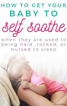 How to Get Your Baby to Sleep on Their Own Without a Fight - The Busy Mom's Guide to a Clean & Organized House]- 30 Day Home Management Boot Camp]How to Get Your Baby to Sleep on Their Own Without Getting Baby To Sleep, Help Baby Sleep, Child Sleep, Babies R Us, Baby Schlafplan, Baby In Crib, Gentle Sleep Training, Toddler Sleep Training, Baby Sleep Schedule