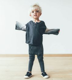 Harem pants & dip dye blouse | Zara Rock & Sand Capsule collection for tough boys | gomommygo.nl