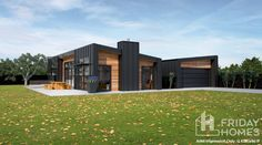 Get started with our architectural and modern house plans - Horrell Construction Modern House Floor Plans, Dream House Plans, Modern House Design, Home Design, Design Ideas, Contemporary Design, Tin House, Tiny House Cabin, House Roof