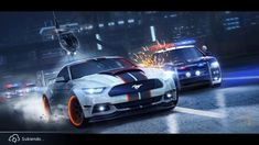 NEED FOR SPEED gameplay ios