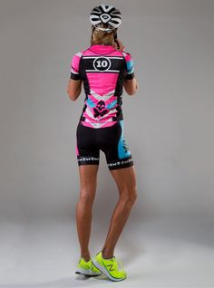 The performance jersey worn by Team Betty 2015 - BettyStyle™ luxe  ultra-light polyester. Cycling JerseysWomen s ... fe442d9be
