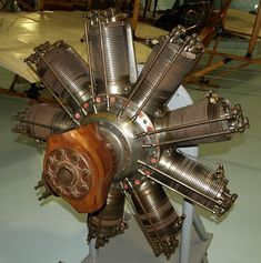 Sopwith Camel F1 130 HP Clerget Rotary Engine