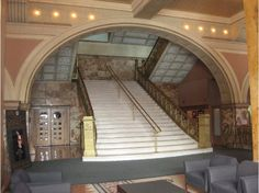 Interior of the Auditorium Bldg, Alder & Sullivan, 1887-89, 104 Reviews of History, Architecture, & Landmarks in Chicago