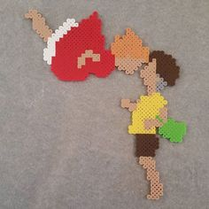 Ponyo hama beads by  breezeeweezee  Huh! Interesting to see my perler designs floating around! At least I'm getting credit!