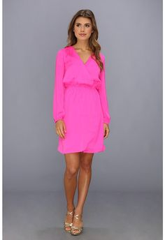 afd6b24cd057 Lilly Pulitzer Whitaker Wrap Dress - pink cocktail dress Pink Cocktail  Dress