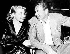 Patricia Neal on the set with her lover Gary Cooper