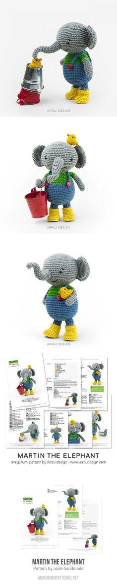 Martin the Elephant amigurumi pattern