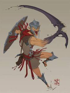 Dungeons And Dragons Characters, Dnd Characters, Fantasy Characters, Character Sketches, Character Drawing, Hobgoblin, Character Design Inspiration, Character Ideas, Creature Concept