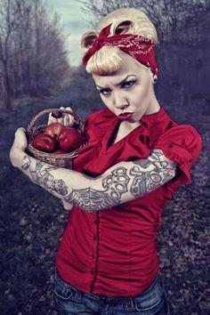#ink #tattoo #fashion #rockabilly