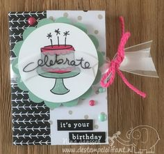 WWYS Challenge #65 Endless Birthday Wishes –Stampin' Up!- De Stempelolifant