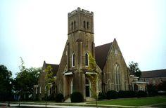 the First Methodist Church of Elberton, Georgia