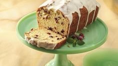 Enjoy this delicious cranberry bread with white chocolate icing - sure to be a favorite.